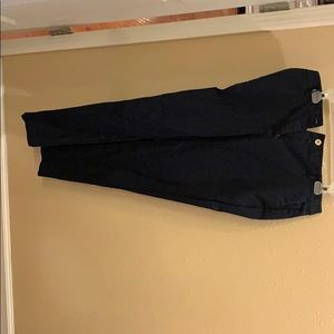 Navy Michael Kors straight Pants